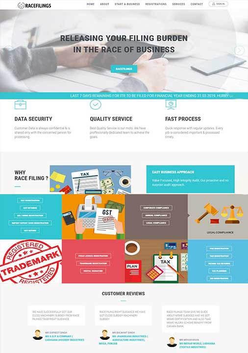 CA Website Development